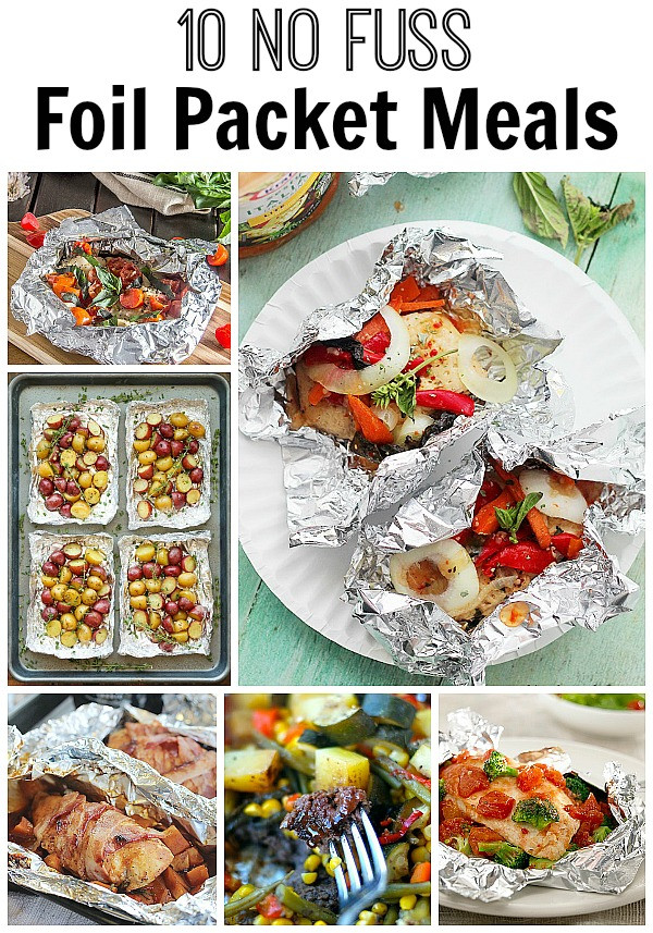Low Carb Foil Packet Dinners  10 No Fuss Foil Packet Meals Home Made Interest