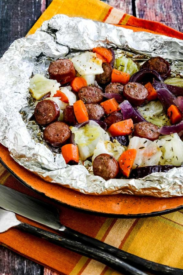 Low Carb Foil Packet Dinners  Low Carb Autumn Tin Foil Dinners Kalyn s Kitchen
