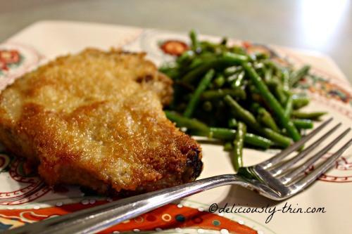 Low Carb Fried Pork Chops  Oven Fried Pork Chops