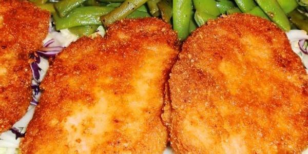 Low Carb Fried Pork Chops  low carb pork chop recipes LOW CARB Pinterest