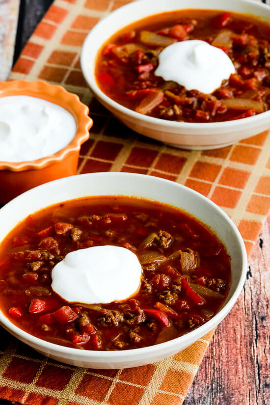 Low Carb Ground Beef Soup  30 Paleo Instant Pot Recipes