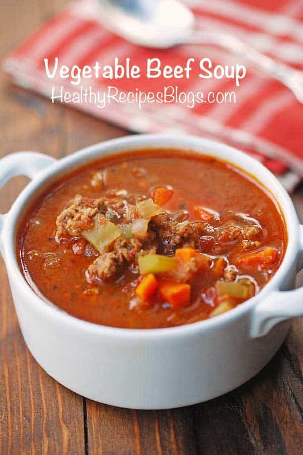 Low Carb Ground Beef Soup  50 Best Low Carb Soup Recipes for 2018