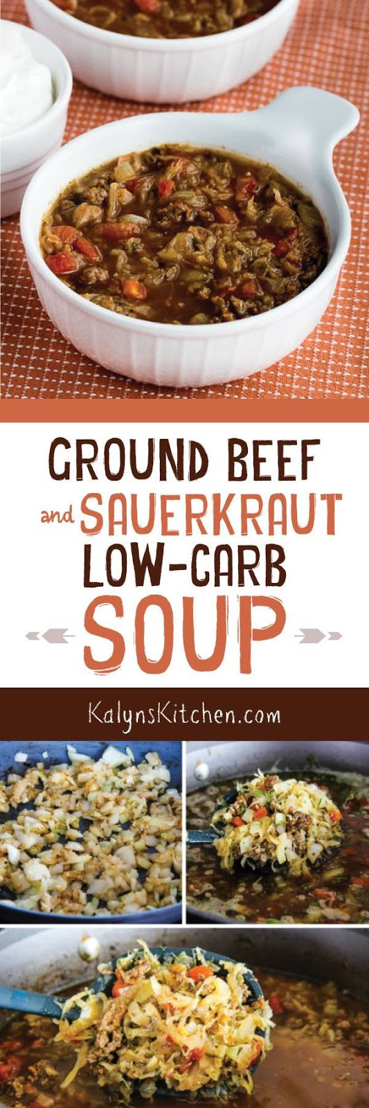 Low Carb Ground Beef Soup  Ground Beef and Sauerkraut Low Carb Soup Kalyn s Kitchen