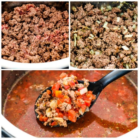 Low Carb Ground Beef Soup  Instant Pot Low Carb Soup with Ground Beef Green Beans