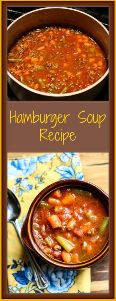 Low Carb Ground Beef Soup  Hamburger Soup Recipe Low Carb & Delicious