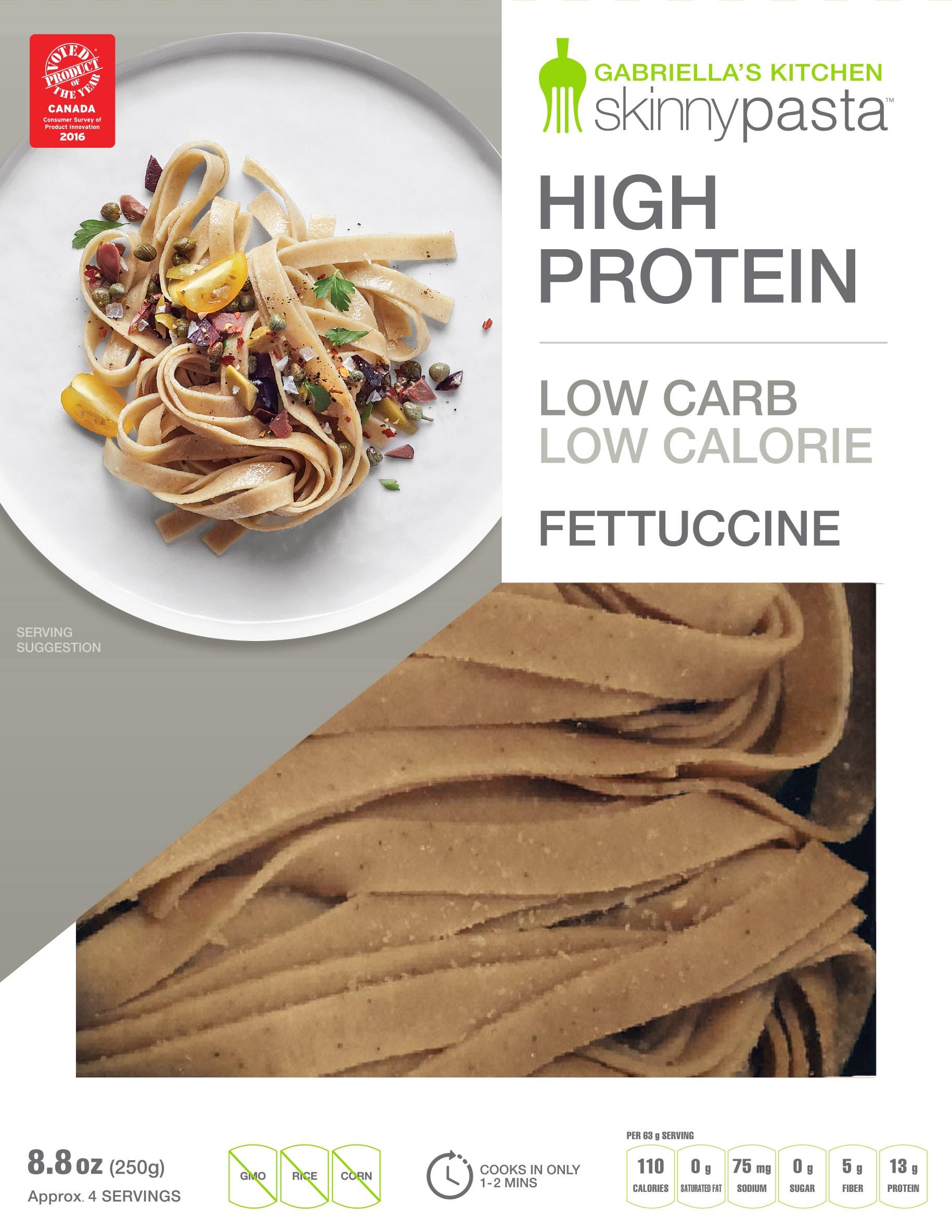 Low Carb High Fiber Recipes  low calorie high fiber pasta