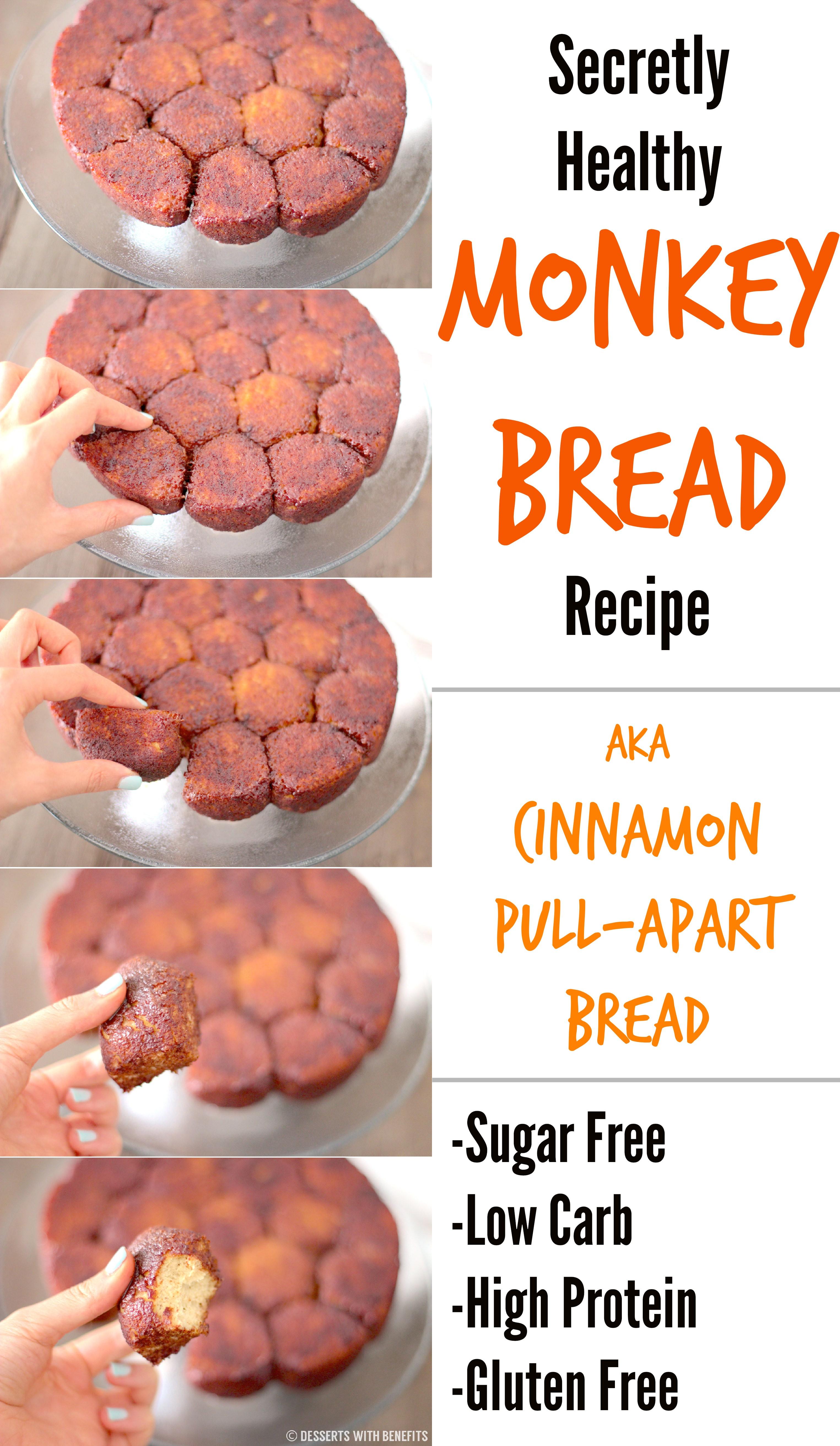 Low Carb High Fiber Recipes  Healthy Gluten Free Monkey Bread Recipe