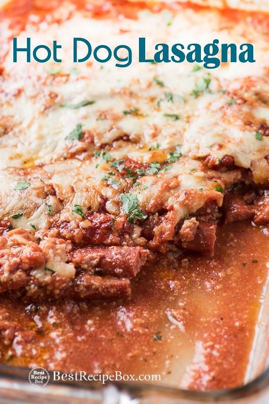 Low Carb Hot Dog Recipes  Low Carb Hot Dog Lasagna Recipe