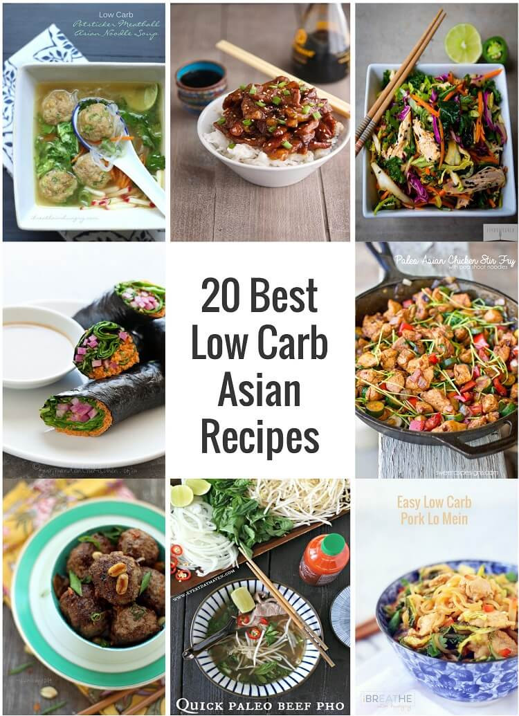 Low Carb Japanese Recipes  20 Best Low Carb Asian Recipes