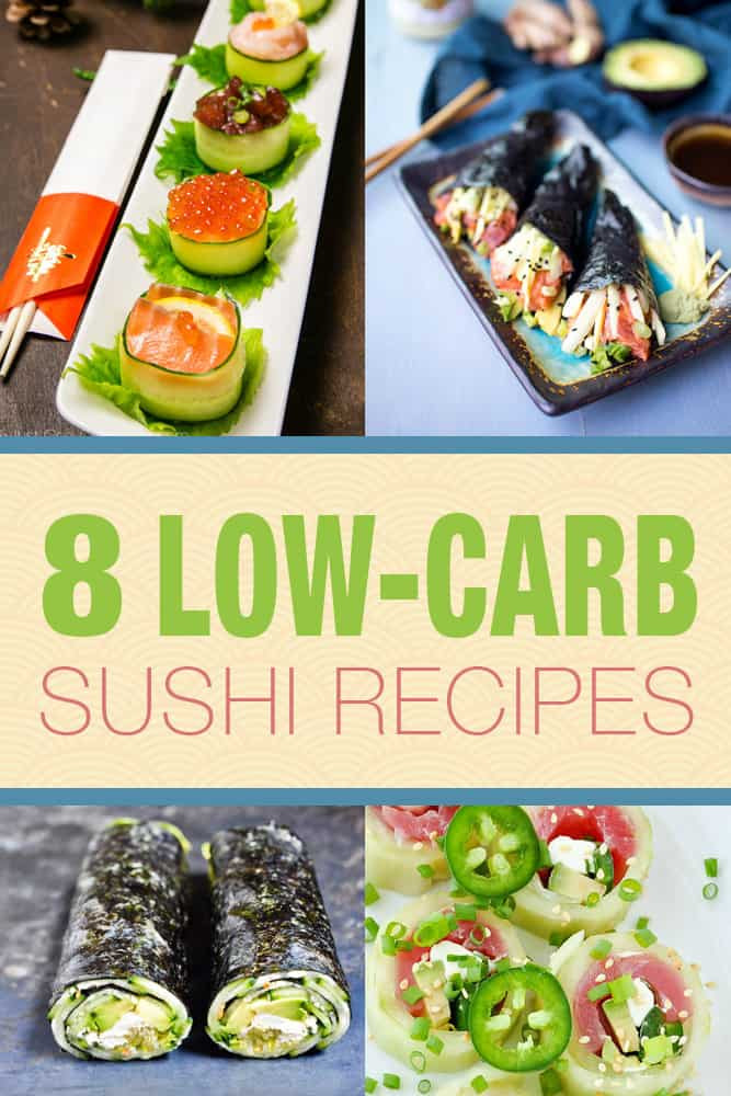 Low Carb Japanese Recipes  8 Low Carb Sushi Recipes