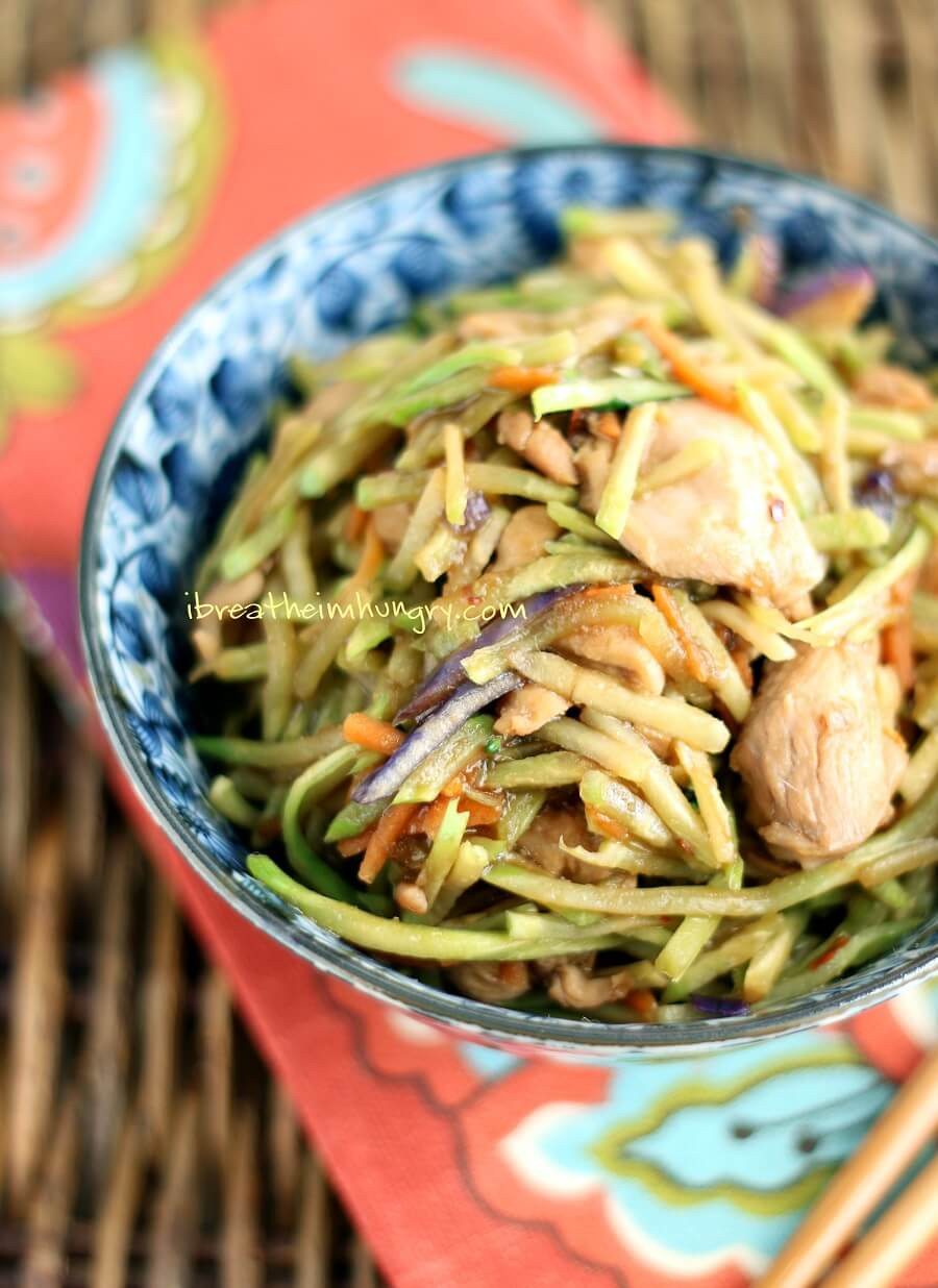 Low Carb Japanese Recipes  Easy Low Carb Chicken Stir Fry Recipe Gluten Free