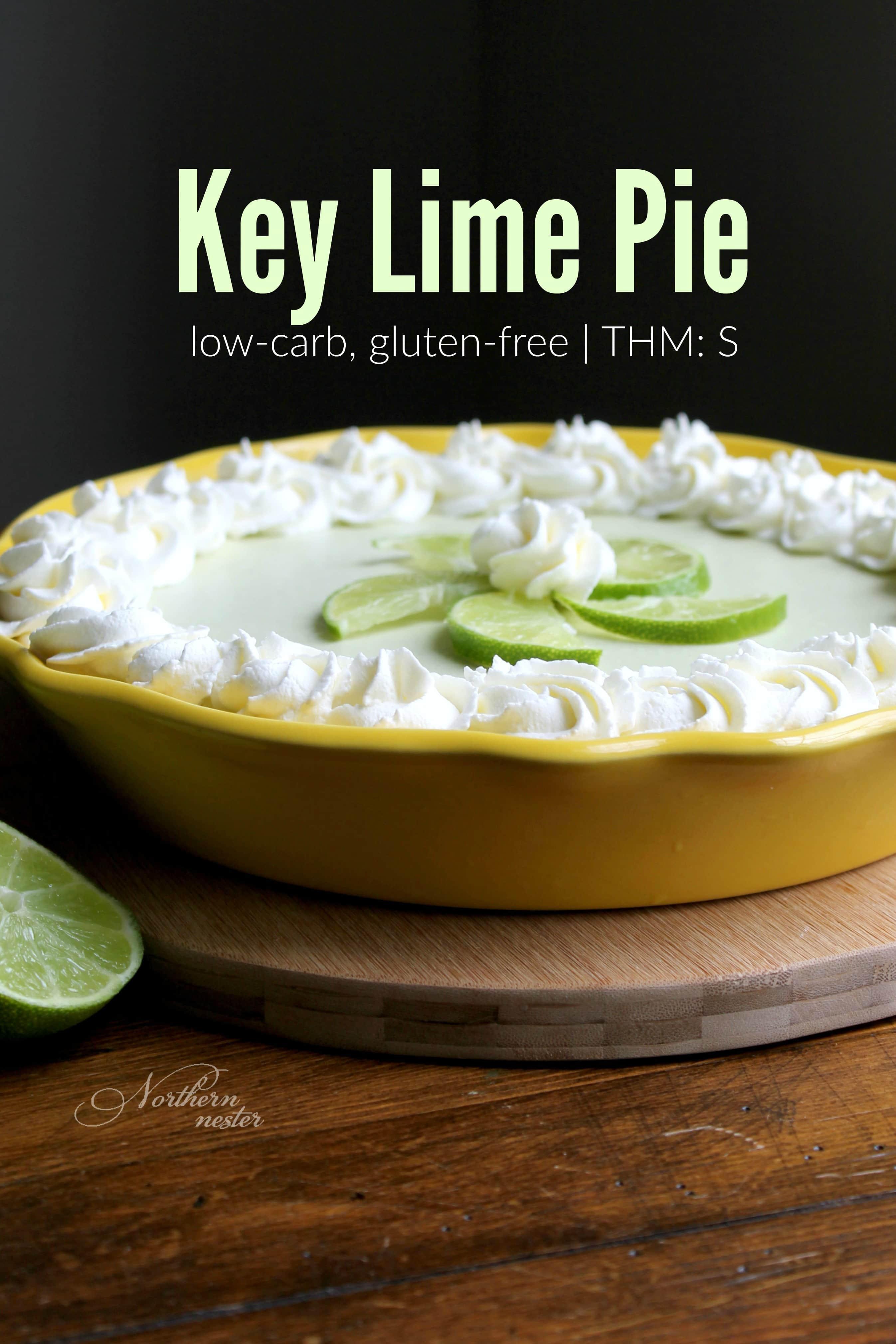 Low Carb Key Lime Pie  Low Carb Key Lime Pie