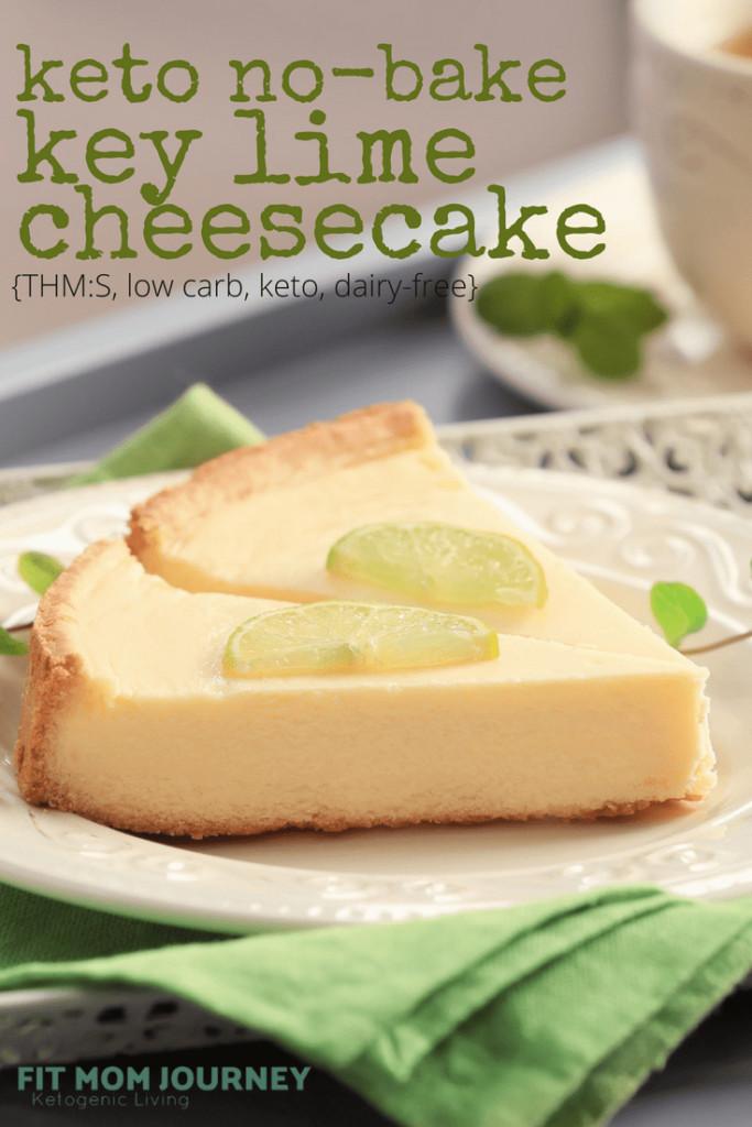 Low Carb Key Lime Pie  Low Carb Key Lime Pie Cheesecake No Bake Keto Sugar