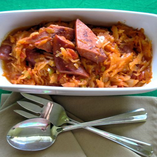 Low Carb Kielbasa Recipes  Kielbasa & Rotel Kraut Ro Tel Pinterest