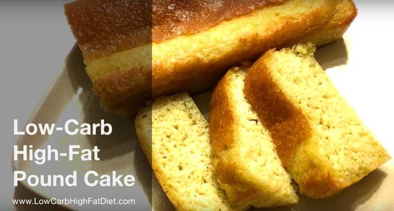 Low Carb Lemon Pound Cake  Lemon Pound Cake for Low Carb High Fat Diets