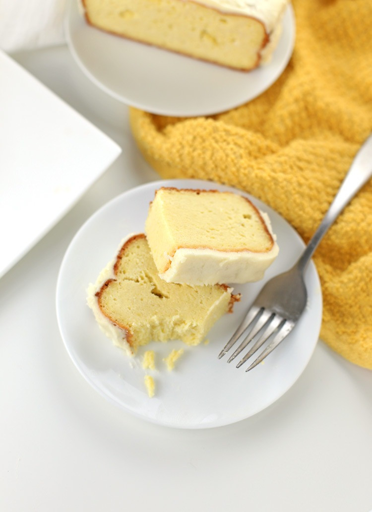 Low Carb Lemon Pound Cake  Low Carb Lemon Pound Cake Gluten free Keto friendly