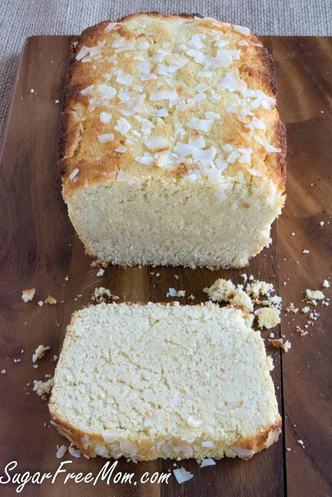 Low Carb Lemon Pound Cake  Sugar Free Lemon Coconut Pound Cake Low Carb and Grain Free