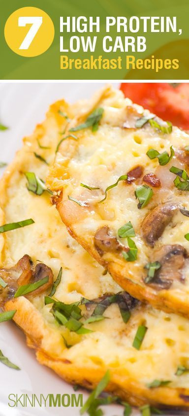 Low Carb Low Fat Recipes  7 High Protein Low Carb Breakfast Recipes