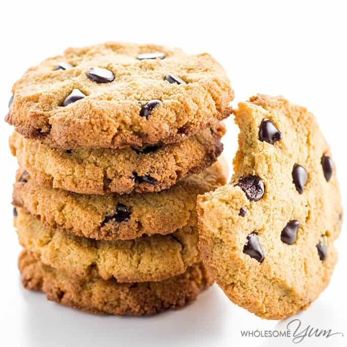 Low Carb Low Sugar Cookies  The Best Low Carb Keto Chocolate Chip Cookies Recipe With