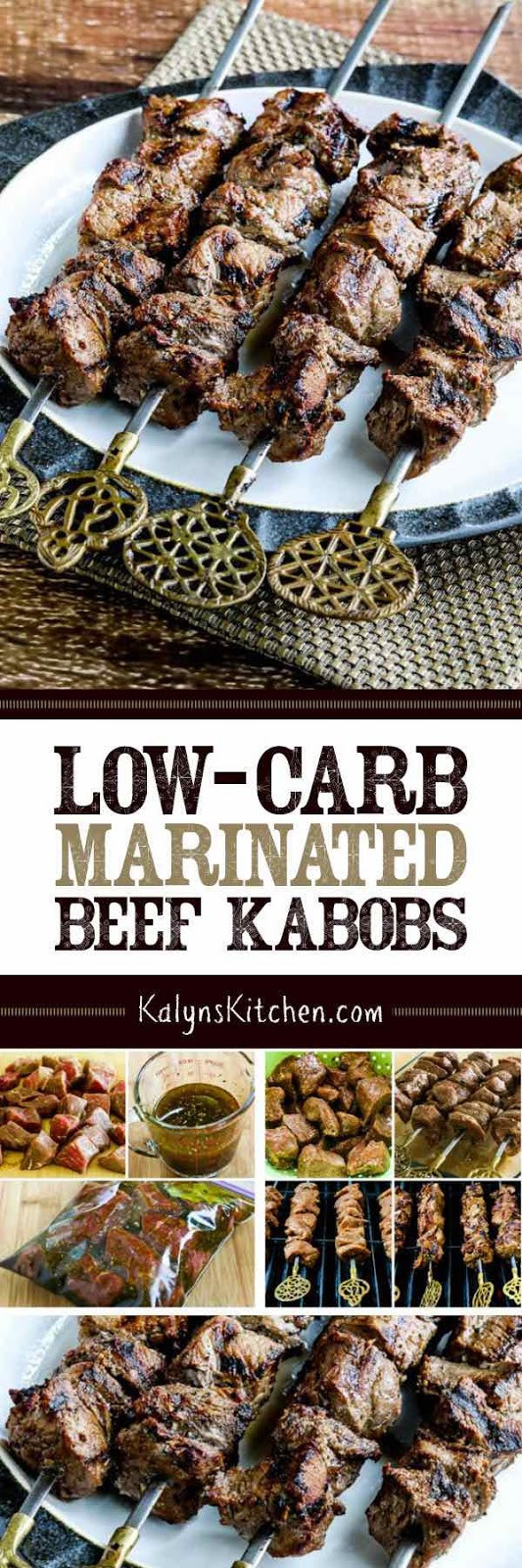 Low Carb Marinades  Low Carb Marinated Beef Kabobs Kalyn s Kitchen