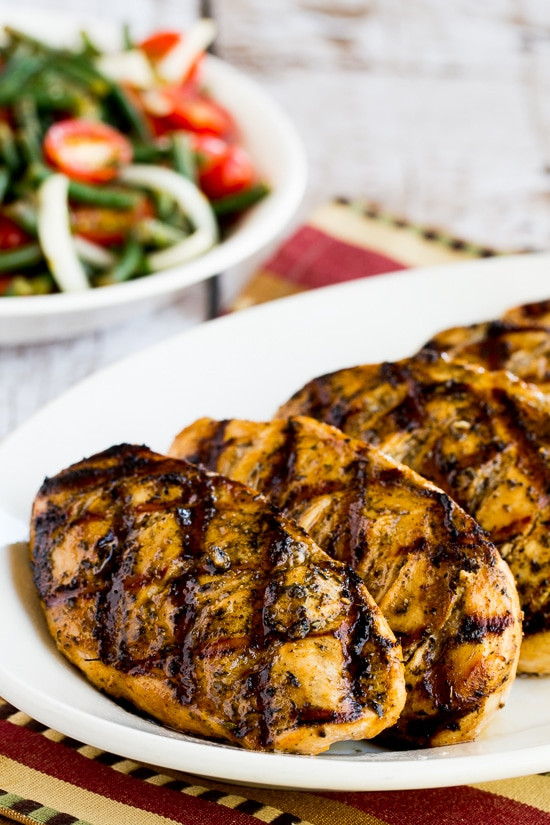 Low Carb Marinades  Savory Low Carb Marinade for Grilled Chicken Pork or