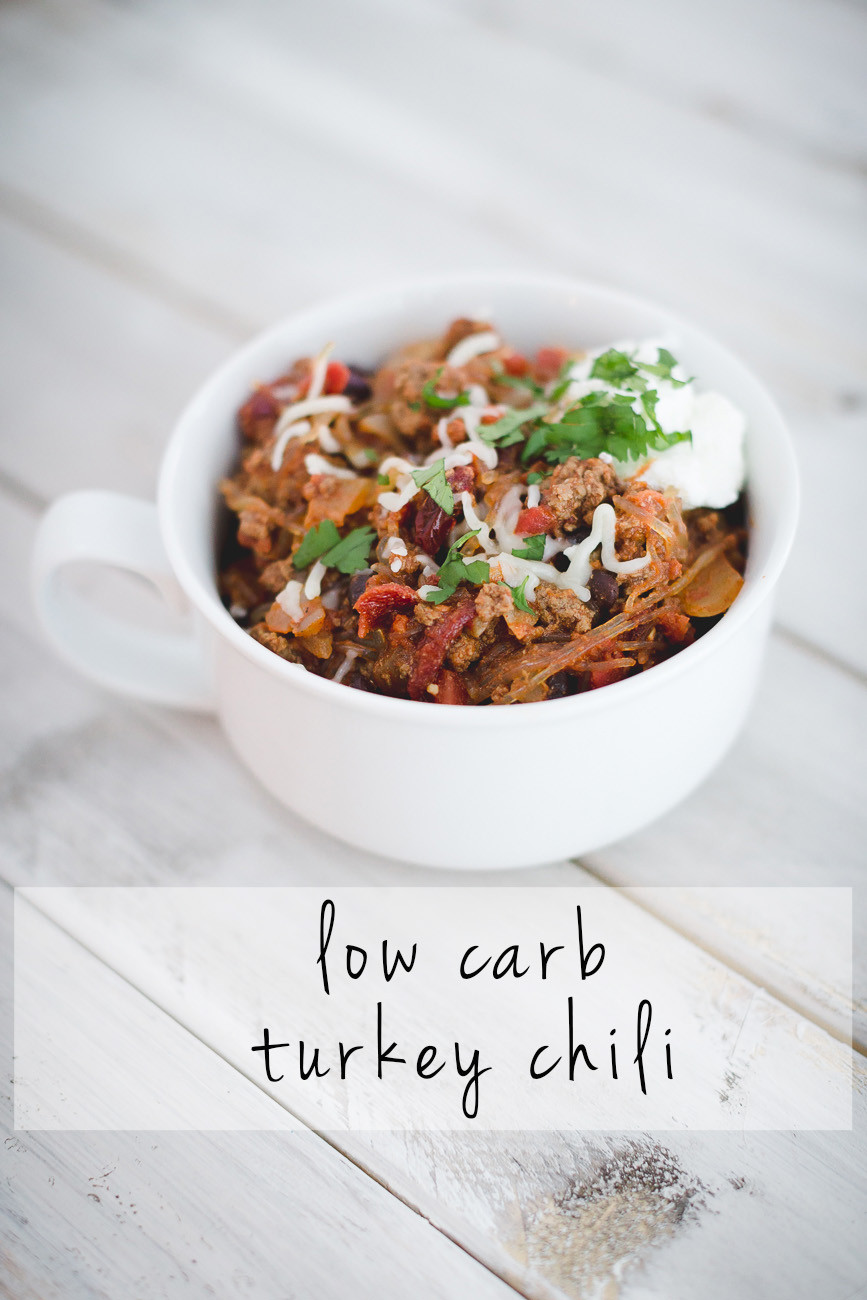Low Carb Meals With Ground Turkey  Low Carb Turkey Chili Recipe