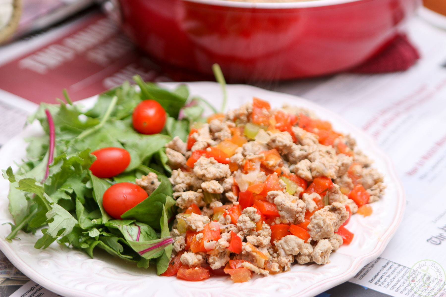 Low Carb Meals With Ground Turkey  Organic Ground Turkey High Protein Low Carb Meal