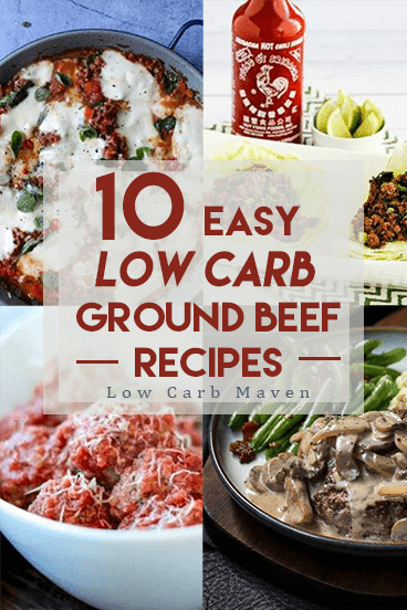 Low Carb Meat Recipes  10 Easy Low Carb Ground Beef Recipes the Whole Family Will