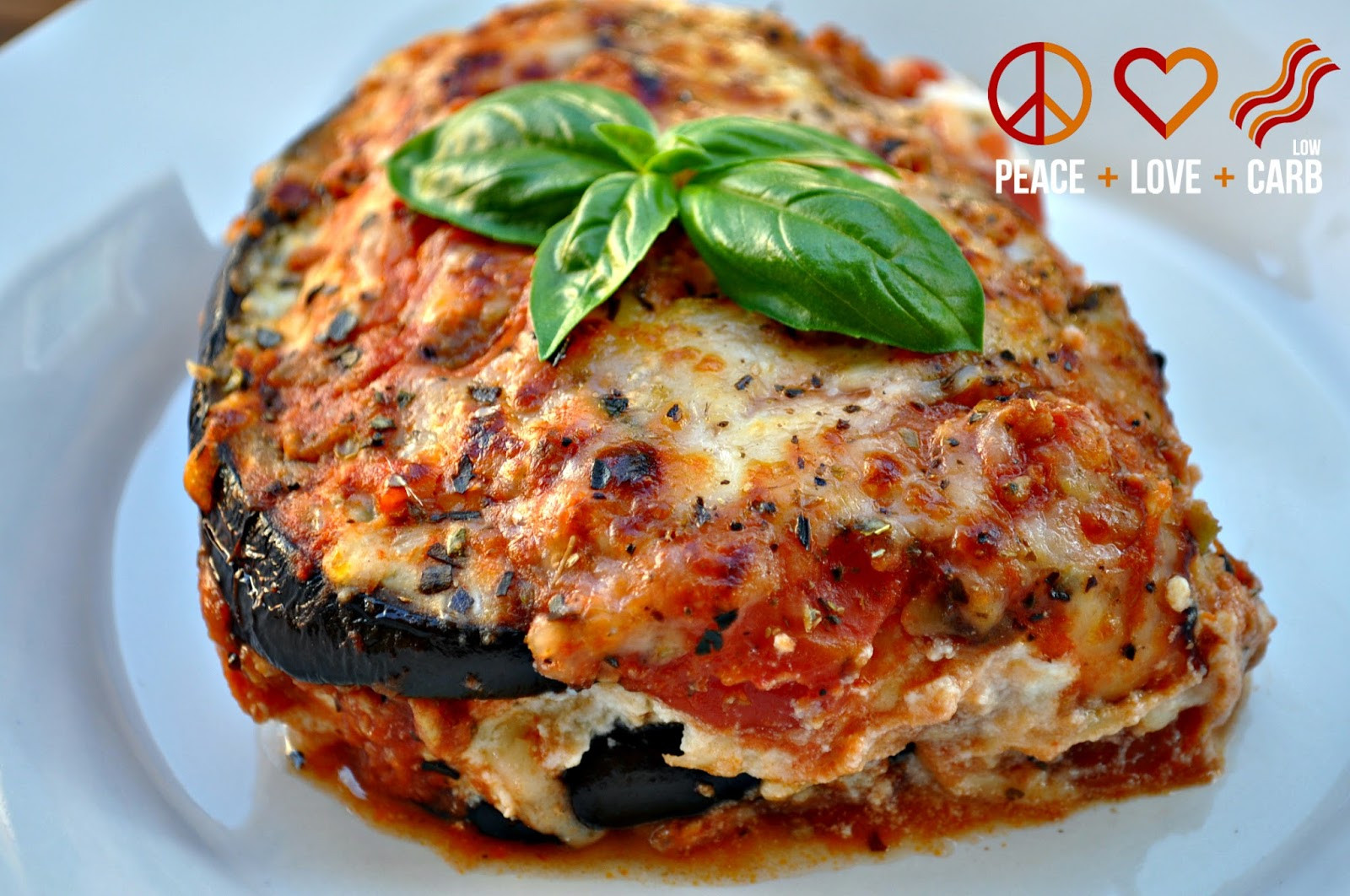 Low Carb Meat Recipes  Eggplant Lasagna with Meat Sauce Low Carb Lasagna