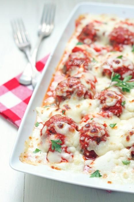 Low Carb Meatball Recipes  Low Carb Lasagna Meatballs Recipe