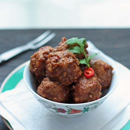 Low Carb Meatball Recipes  Pork Vindaloo Meatball Recipe Low Carb and Gluten Free