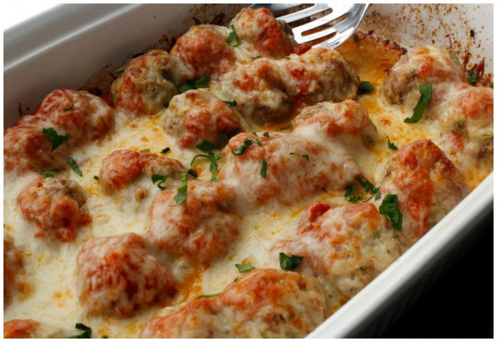 Low Carb Meatball Recipes  Low Carb Meatball Casserole Recipe iSaveA2Z