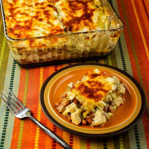 Low Carb Mexican Chicken Casserole  Low Carb Mexican Chicken Casserole