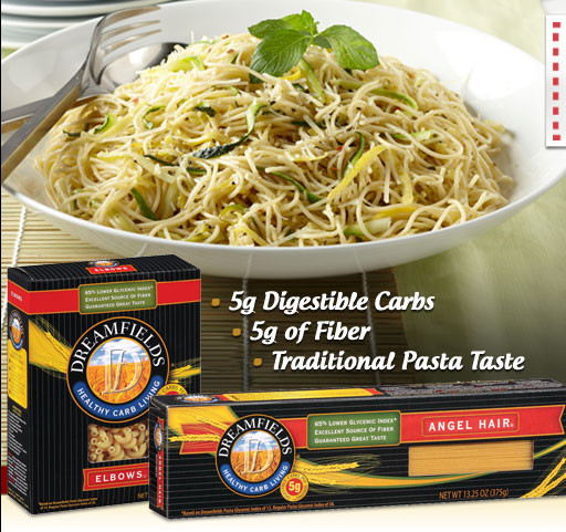 Low Carb Noodles Walmart  DreamFields Pasta Coupon $ 78 at Walmart