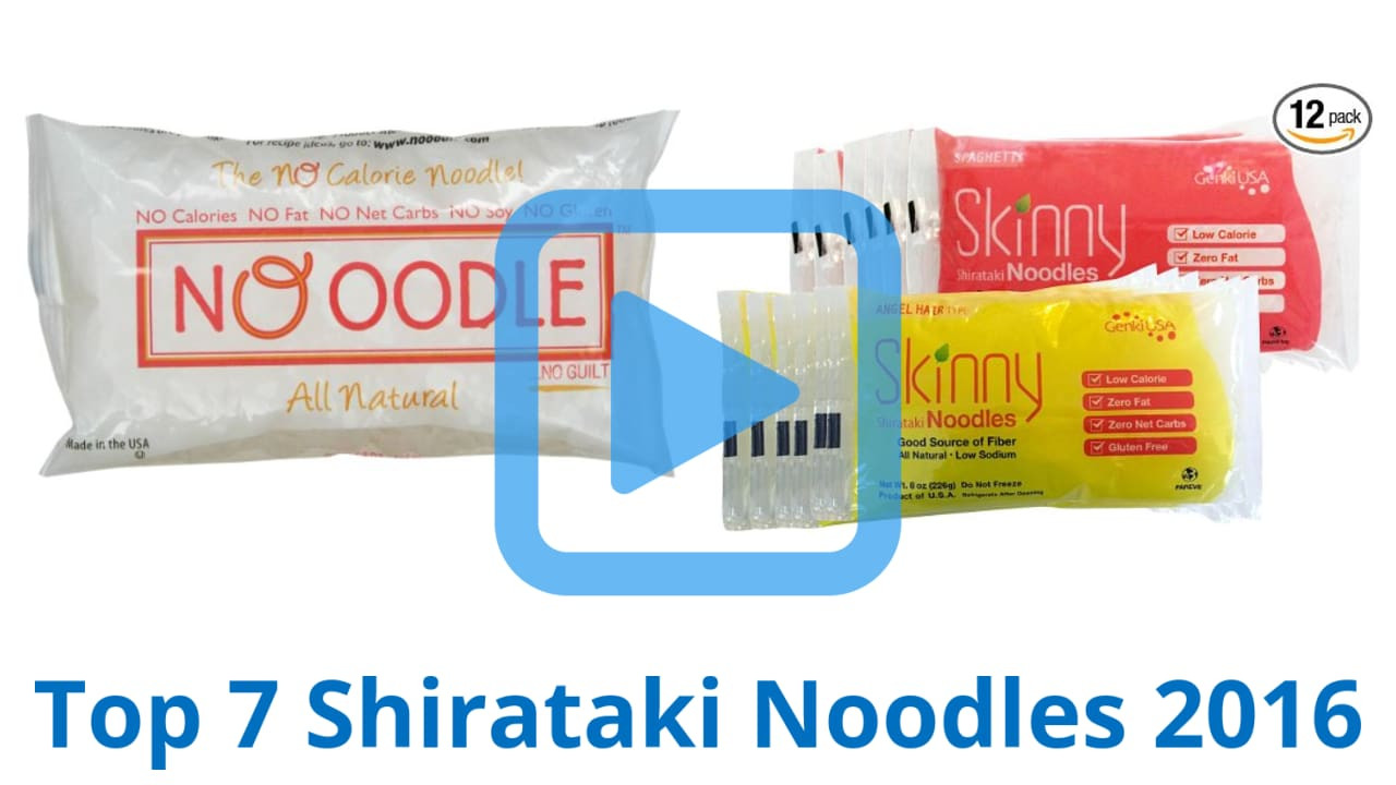 Low Carb Noodles Walmart  Top 7 Shirataki Noodles of 2016