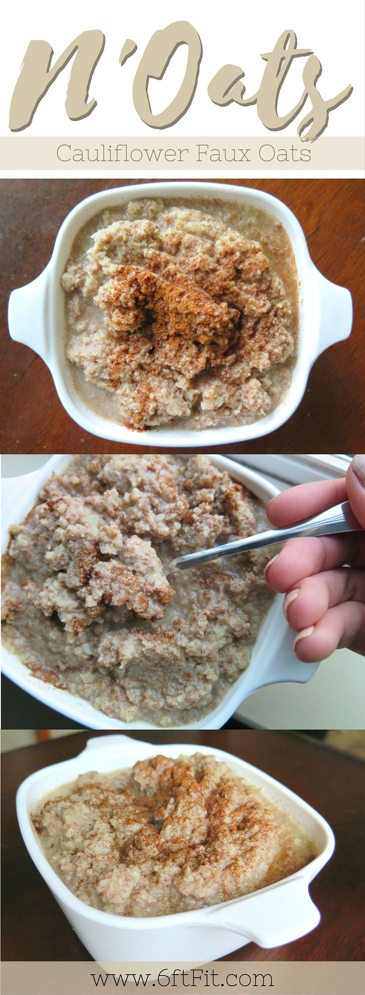 Low Carb Oats  Low carb grain free cauliflower oats that don t suck