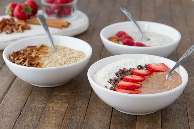 "Low Carb Oats  Keto Overnight ""Oats"""