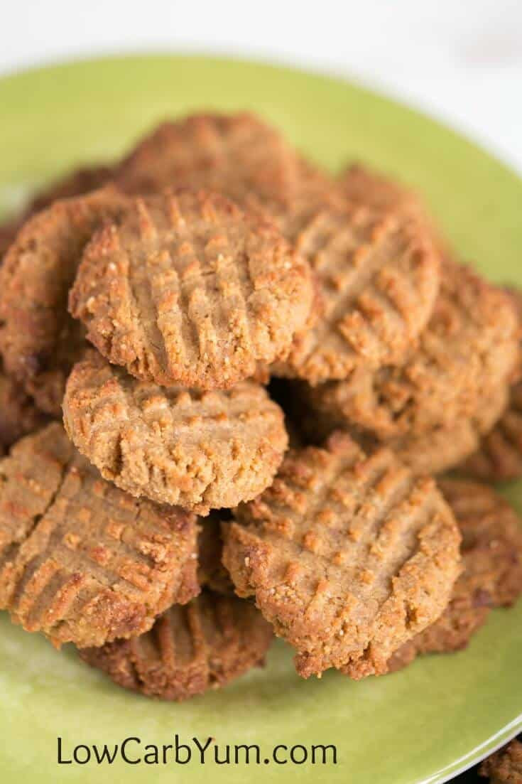 Low Carb Peanut Butter Cookies Almond Flour  Low Carb Peanut Butter Cookies with Coconut Flour