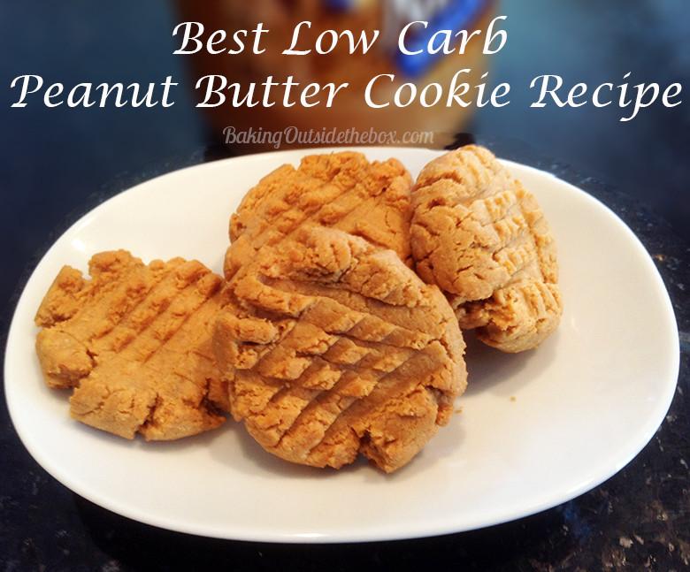 Low Carb Peanut Butter Cookies Coconut Flour  Best Low Carb Peanut Butter Cookie Recipe Baking Outside