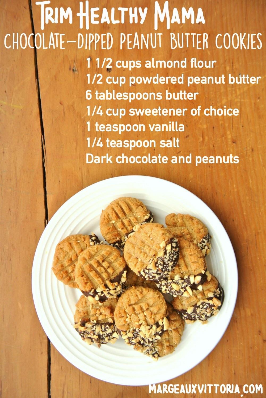 Low Carb Peanut Butter Cookies Coconut Flour  low carb peanut butter cookies almond flour