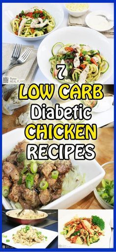 Low Carb Recipes For Diabetics  7 Ingre nt Diabetic Dinner Recipes