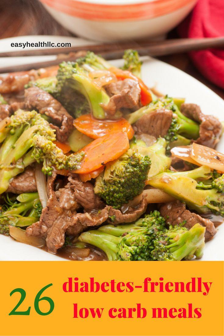 Low Carb Recipes For Diabetics  Best 25 Diabetic meals ideas on Pinterest