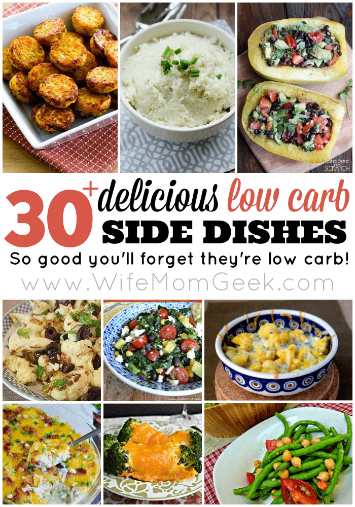 Low Carb Recipes Side Dishes  30 Delicious Low Carb Side Dishes