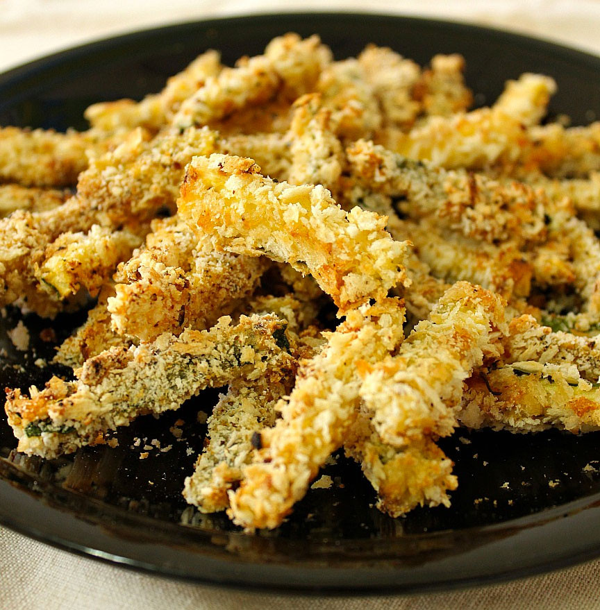 Low Carb Recipes Side Dishes  Low Carb Side Dish Baked Zucchini Fries Low Carb Go