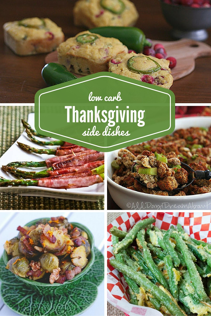 Low Carb Recipes Side Dishes  low carb thanksgiving side dishes