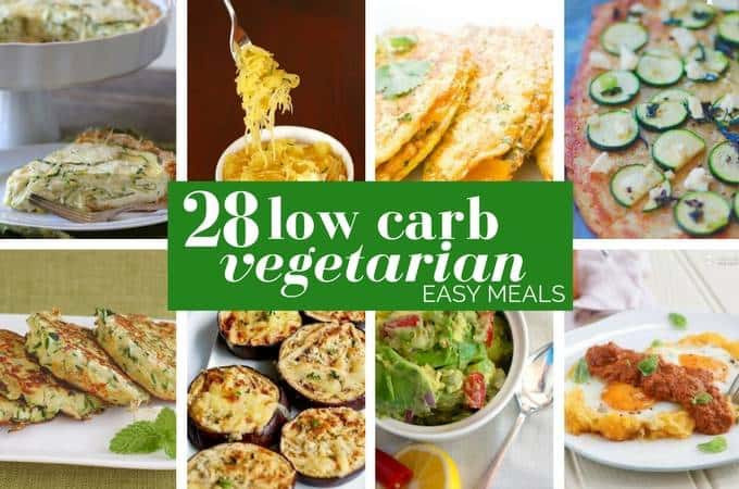 Low Carb Recipes Vegetarian  28 Incredible Low Carb Ve arian Meals Ditch The Carbs