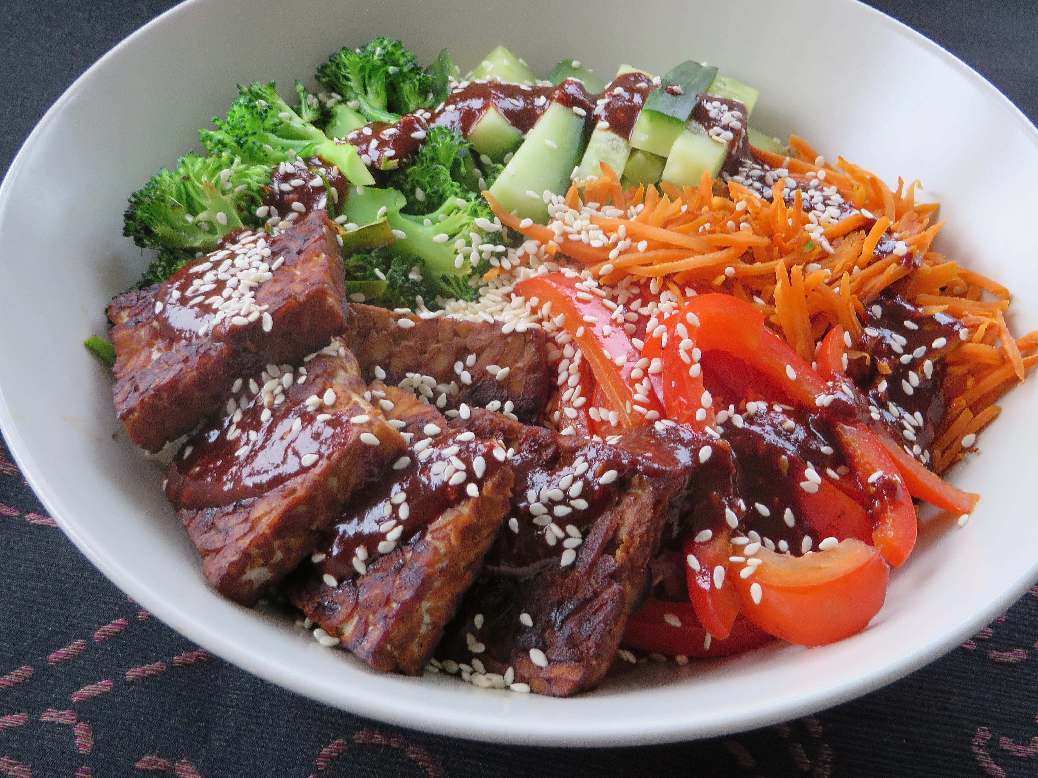Low Carb Recipes Vegetarian  Low carb vegan bibimbap – LowCarb Vegan