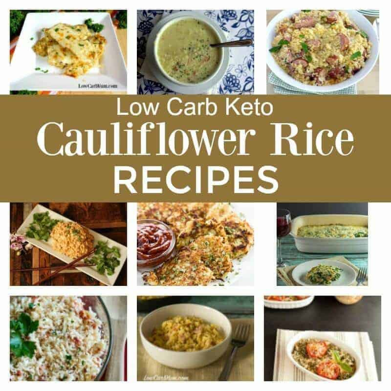 Low Carb Recipes With Cauliflower  Easy and Delicious Cauliflower Rice Recipes To Try