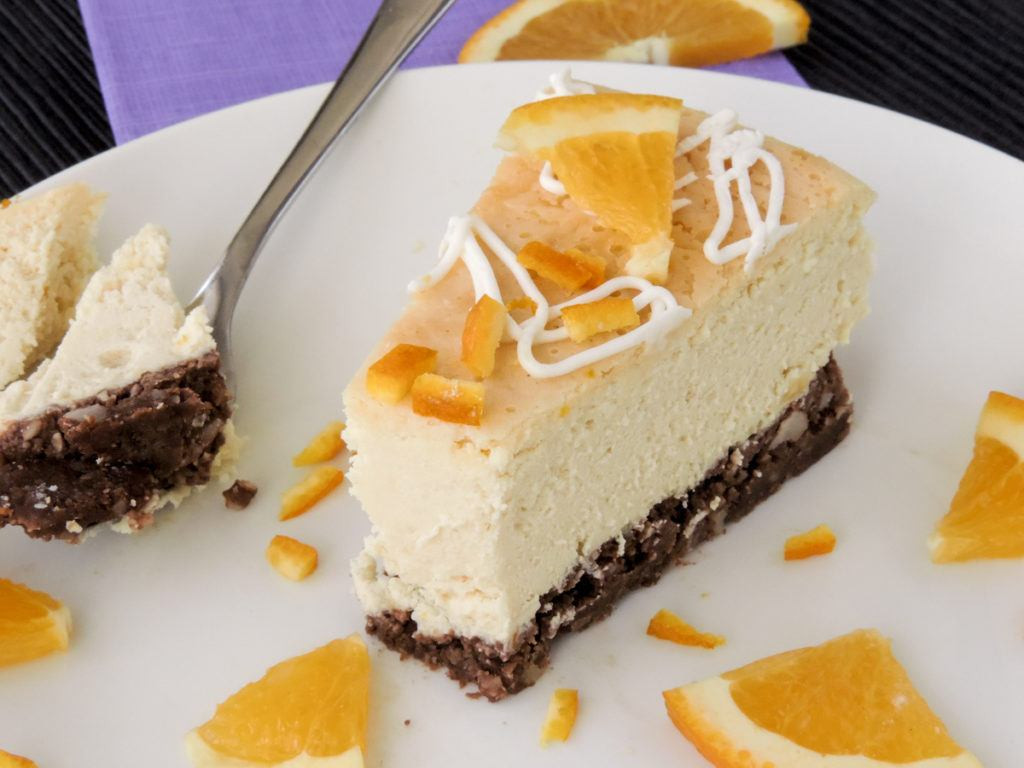 Low Carb Recipes With Ricotta Cheese  Low Carb Orange Ricotta Cheesecake