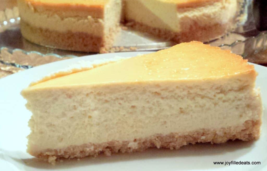 Low Carb Recipes With Ricotta Cheese  Vanilla Ricotta Cheesecake Low Carb Keto THM S Joy
